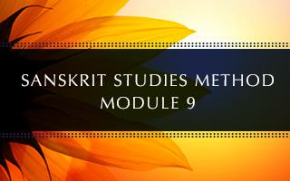 Sanskrit Module 9