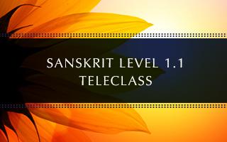 Sanskrit Level 1.1