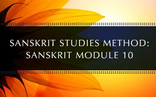 Sanskrit Module 10